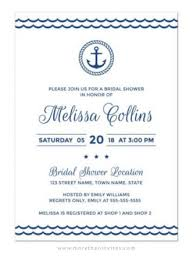 Nautical Bridal Shower Invitations Weddings Archives More Than Invites