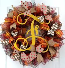 thanksgiving wreaths fall monogram door wreath pink door wreaths