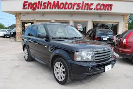 2009 land rover 2009 land rover range rover sport hse brownsville tx english motors