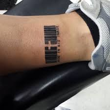 best 25 barcode tattoo ideas on pinterest tatouages