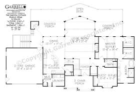 dakota cottage house plan covered porch plans dakota cottage house plan 09046 1st floor plan