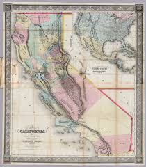 1600 Map Of America by Six Strange Maps Of California Kcet