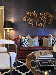 Black White And Gold Living Room by Photo Page Hgtv