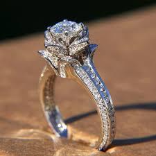 etsy diamond rings images Beautiful etsy rose ring jpg