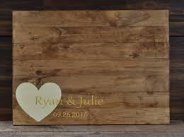 wedding signing board best 25 wood guest book ideas on guestbook signs