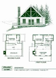 free cabin floor plans 24 24 two story house plans fresh e bedroom cabin floor plans s and