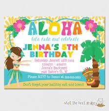 luau birthday party invitations u2013 gangcraft net