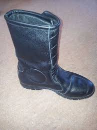 ladies leather motorcycle boots ladies leather jo moto motorcycle boots size 39 in dorchester