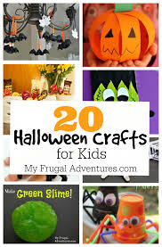 25 halloween craft ideas for children my frugal adventures