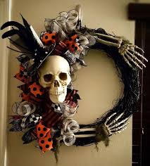 halloween wreath decorations easy homemade halloween decorations