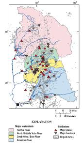 map of oregon gold mines mercury contamination from historical gold mining in california