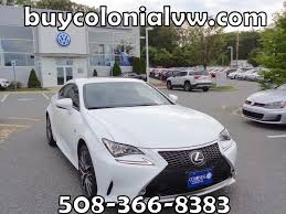 white lexus drag crash 2016 lexus rc 300 300 in ultra white for sale in worcester ma