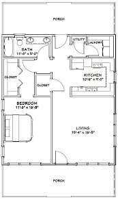 plan no 580709 house plans by westhomeplanners house 28x32 house 28x32h1 895 sq ft excellent floor plans