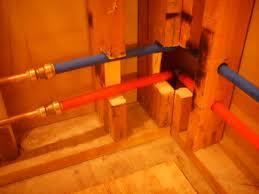 pex in shower whirlpool terry plumbing remodel diy