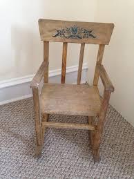 Vintage Childrens Rocking Chairs Wagon Wheel Rocking Chair Design Home U0026 Interior Design