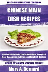 Chinese Main Dish Recipe - cookbooks list the best selling