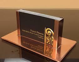 Modern Business Card Case Business Card Holder Desk Etsy