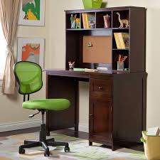 Oak Study Desk Traditional Brown Lacquered Oak Wood Study Desk Mixed Lime Green