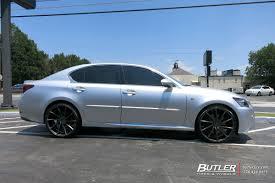 lexus vossen lexus gs with 22in vossen cvt wheels exclusively from butler tires