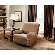 sure fit chair slipcover sure fit stretch stripe recliner slipcover walmart com