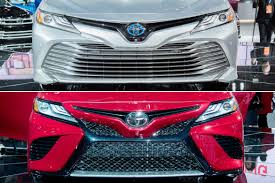 how the 2018 toyota camry u0027s trims look different news cars com
