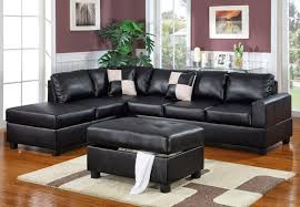 Modern White Bonded Leather Sectional Sofa Sectional Sofa Amazing Black Leather Sectional Sofas Modern