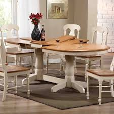 dining room attractive butterfly leaf table for dining room rustic oval brown white themed wooden butterfly leaf table with set of 6 dining chairs for
