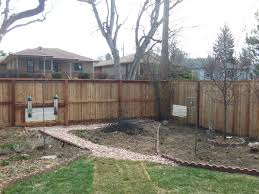 that flat top privacy fence w dog windows alpine fence of