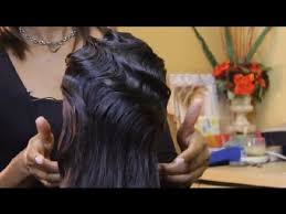 dry wave hairdo how to style a finger wave hairstyle tips for styling hair youtube