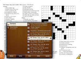 Light Brown Crossword Across Lite For Ipad Scenic Tour