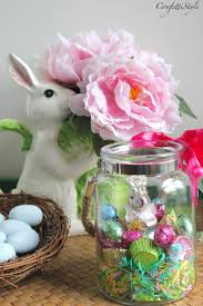 diy easter candy jars easter gift idea confettistyle