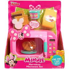 Minnie Mouse Bowtique Vanity Table Disney Minnie Bow Tique Marvelous Microwave Set Walmart Com