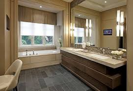 bathroom modern bathroom with large windows modern new 2017