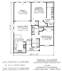 2 bedroom 2 bath house plans 3 bedroom 2 bathroom house floor 1