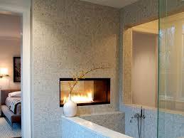awesome bathroom designs bathroom contermporary gas fireplace ideas for awesome bathroom