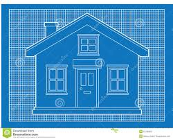 simple house blueprints royalty free stock photo image home plans