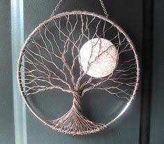 wire tree with moon wire wrapping wire trees wire