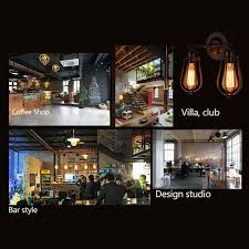industrial retro wall light lamp european american country style
