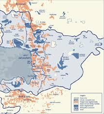 arab map map of arab neighborhoods in east jerusalem