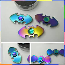 super colorful new super cool rainbow colorful shell material hand spinner