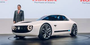 sport cars 2017 honda unveils all electric sports car concept based on new