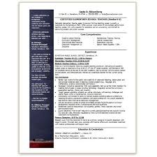 teacher resume templates microsoft word 2007 resume templates 2017