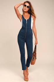 jumpsuit denim free jax jumpsuit blue denim jumpsuit overalls zip