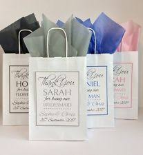 personalized wedding gift bags wedding gift bags ebay