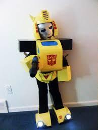 Bumblebee Transformer Halloween Costume G1 Transformers Bumblebee Costume 8 Steps