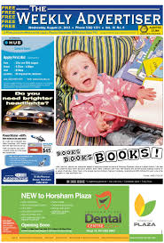 the weekly advertiser wednesday august 21 2013 edition by the
