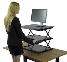 Stand Sit Desk Automatic Adjustable Desk High Standing Desk Standing Table Height