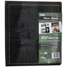 magnetic pages photo album magnetic page photo album 10 inch 11 1 2 inch 100 pages ship