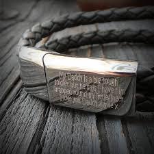 Customized Engraved Bracelets Men U0027s Personalised Engraved Message Bracelet By Morgan U0026 French