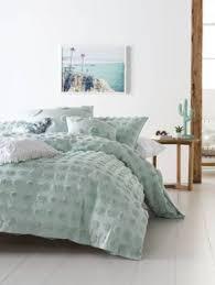 drift pineapple quilt cover sets single bed linen xhil